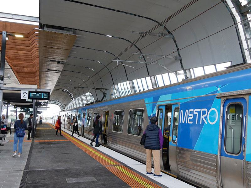 Mechcon-Steel-Fabrication-Railway-Station-Project-Metal-Work-Packages-Clayton-Station