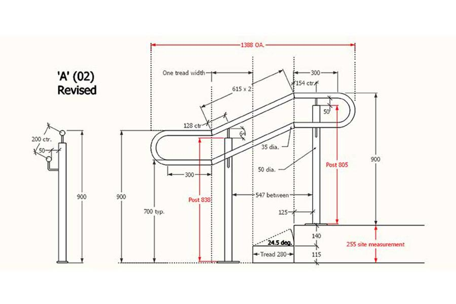 04-Handrails-and-Balustrades-Melbourne-Hand-Rail-Design-A-(02)-Revised.