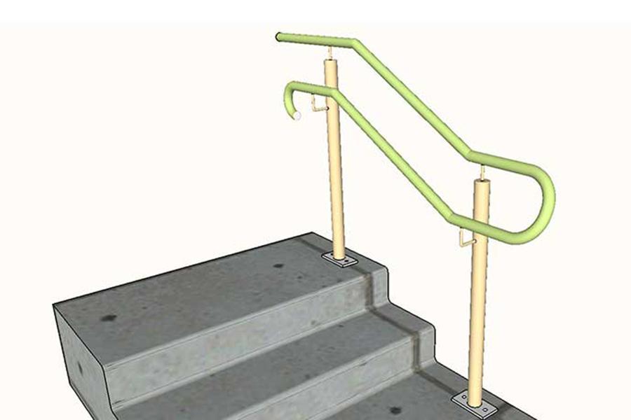 12-Handrails-and-Balustrades-Melbourne-Hand-Rail-Design-Steps-A-(3)-3D