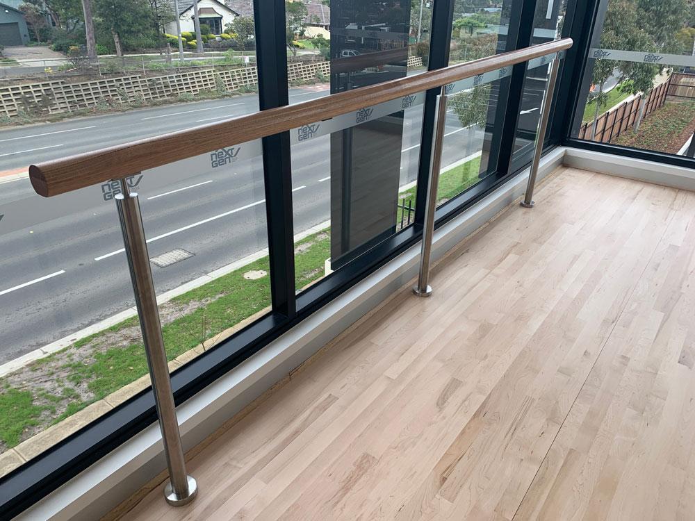 Next-Gen-Helath-Lifestyle-Club-Stainless-Ballet-Dance-Wood-Steel-Handrails-and-Balustrades-Melbourne-Mechcon-IMG_5609